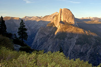 "Yosemite Natl Park, Half Dome from <a href=""http://www.yosemitefun.com/glacier_point.htm"" target=""_blank"">Glacier Point</a>."