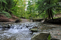 Cuyahoga National Park - Bridal Veil Falls (taken just upstream from the falls)
