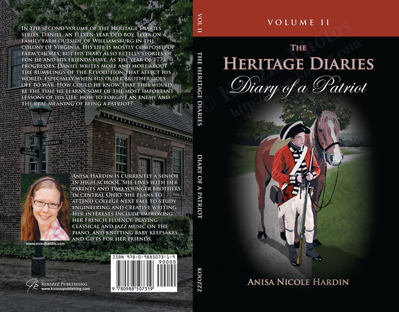 Diary of a Patriot Book Cover